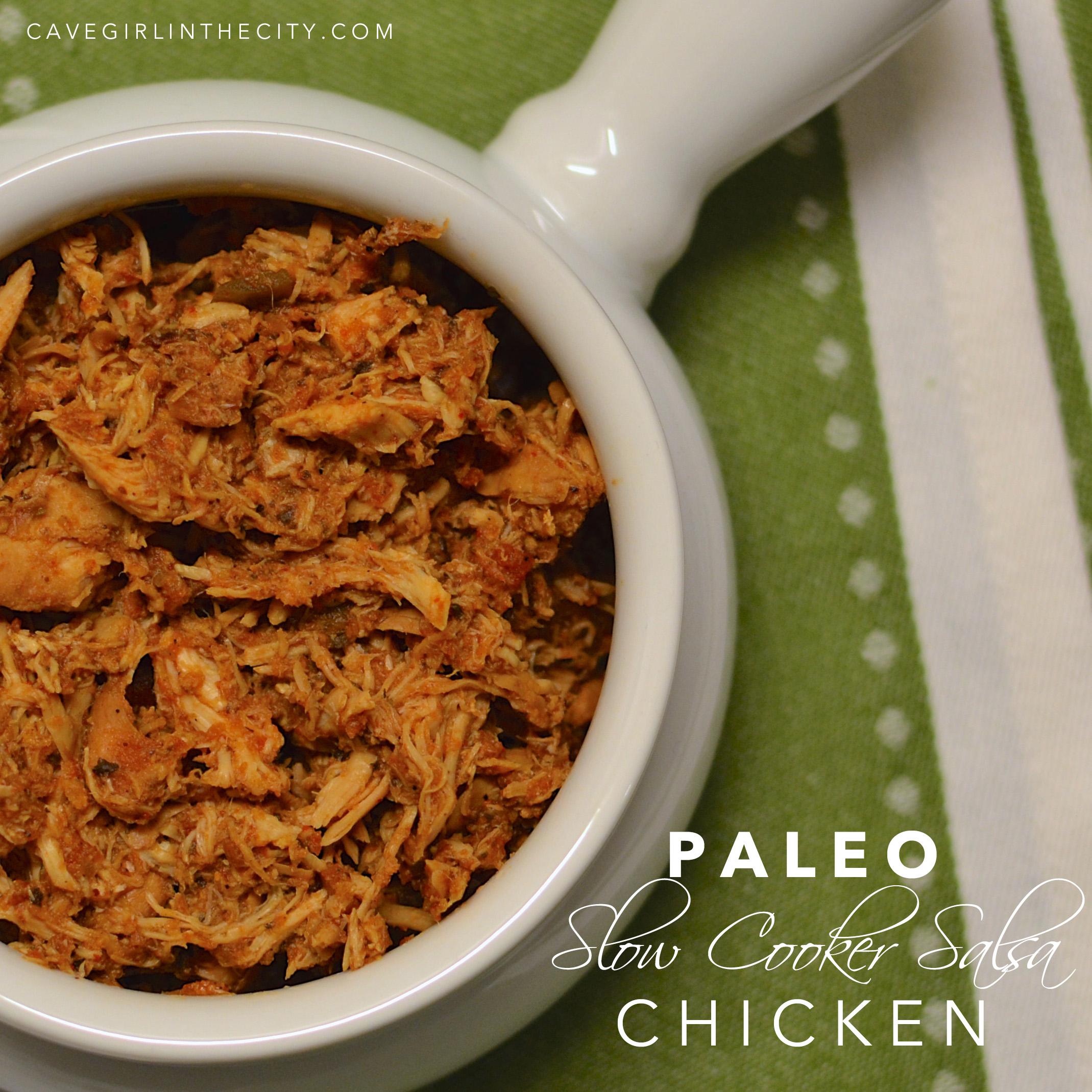 Slow Cooker Salsa Chicken