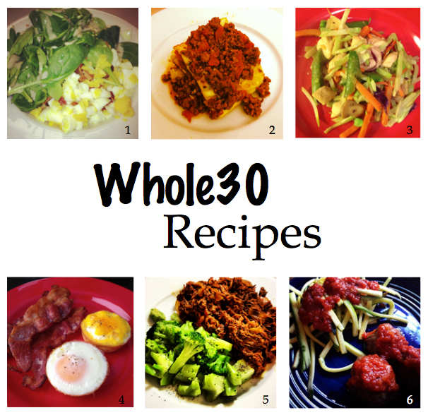 Whole 30 Approved Recipes