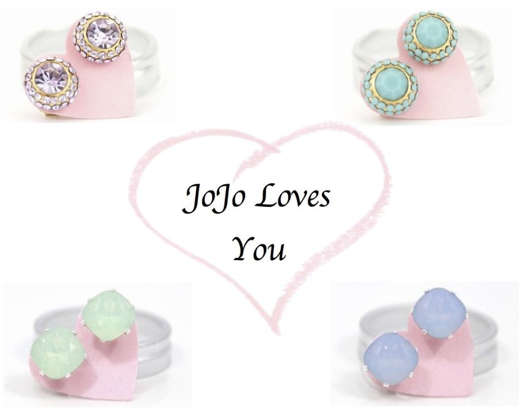 Jojo Loves You Earrings a Giveaway With Jojo Loves You