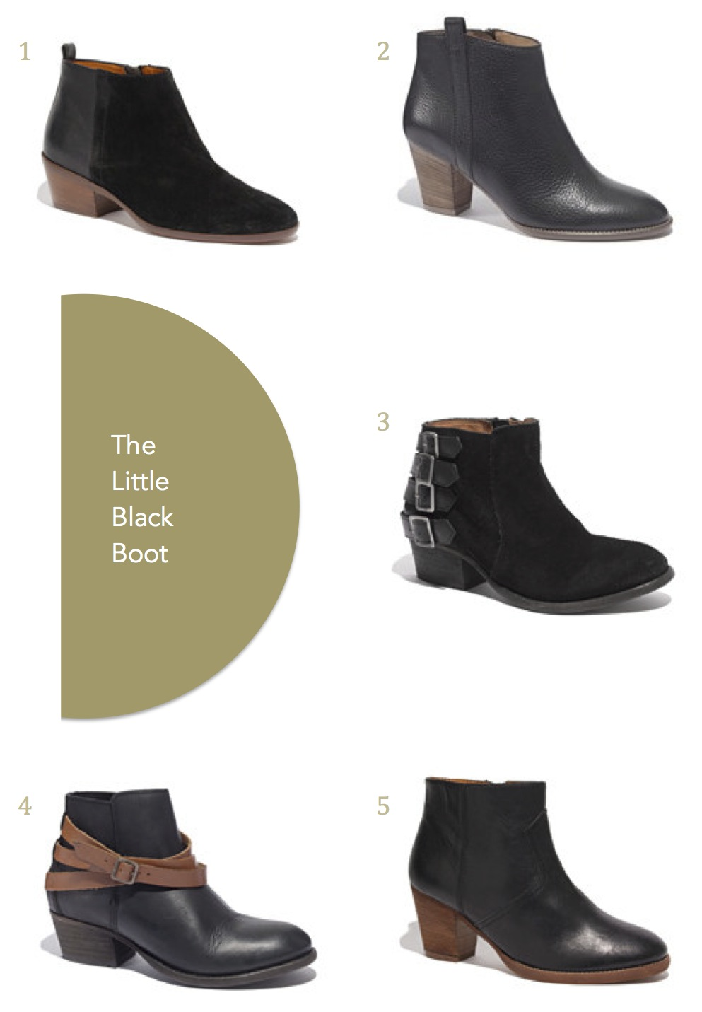 The Perfect Little Black Boot