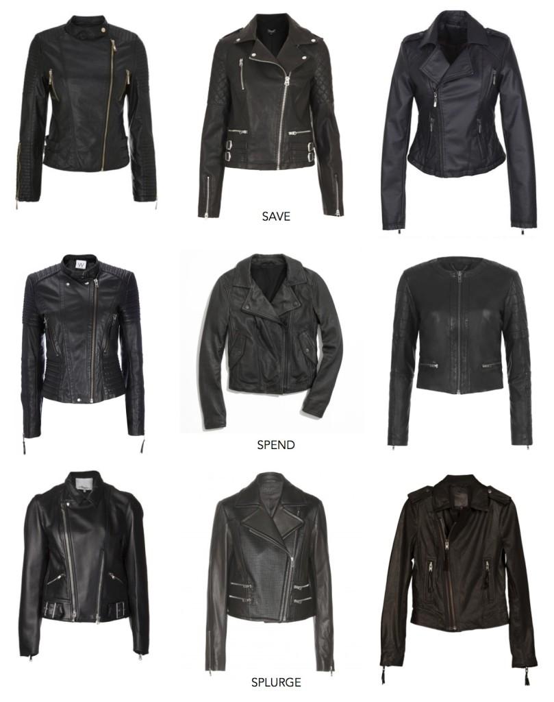 Closet Staple: Black Leather Jacket